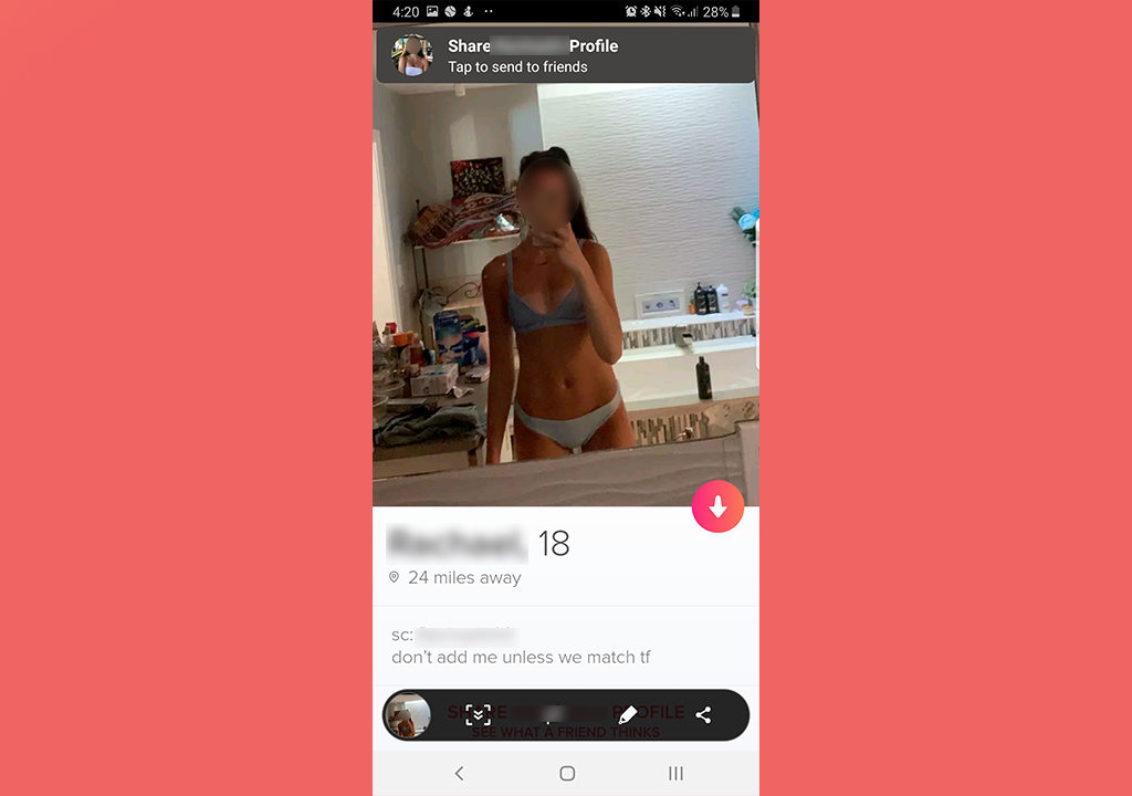 Does Tinder Notify Screenshots