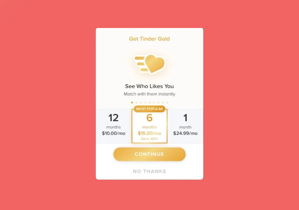Elo score tinder gold
